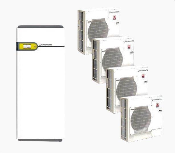 Тепловий насос ECOTOUCH AIR KASKADE (POWER INVERTER)